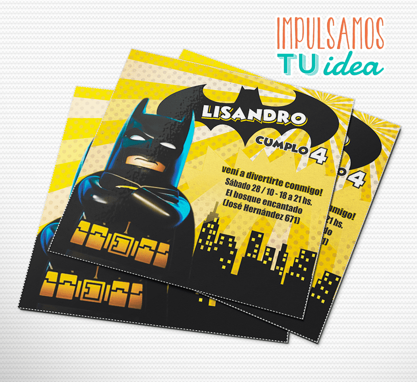 Cumple Lego Batman Invitación Lego Batman Para Imprimir