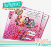 Monster ever after high - Tarjetita para imprimir