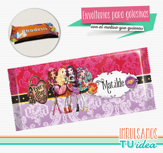 Monster Ever After High - Envoltorio Rhodesia para imprimir