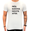 Camiseta Paradise  pré & barzin & Night & After