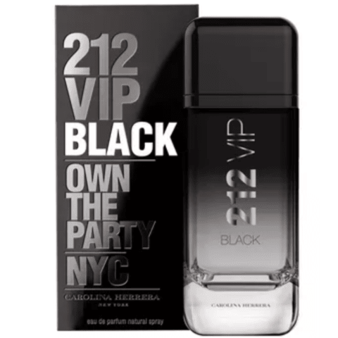 Perfume 212 VIP Black Masculino EDP 100ml