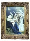 9800 - QUADRO CLÁSSICO MOLD DOUR 120X92 MOD:3 Song of the angels