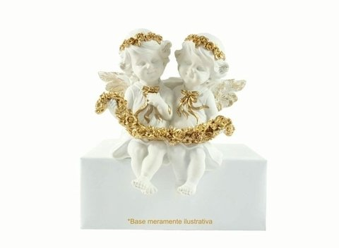 8950 - ANJOS FLORET COLLECTION EDI.GOLD FRIENDS 21CM