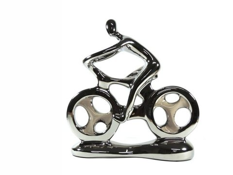 2094 - ESCULTURA HOBBY COLLECTION BIKE H 26CM - comprar online