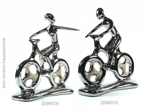 2094 - ESCULTURA HOBBY COLLECTION BIKE H 27,5CM