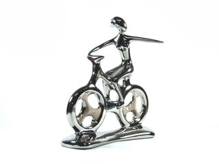 2094 - ESCULTURA HOBBY COLLECTION BIKE M 25,5CM