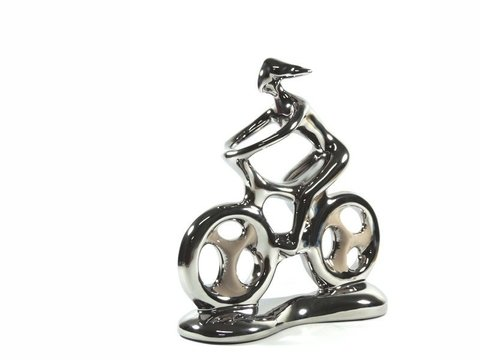 2094 - ESCULTURA HOBBY COLLECTION BIKE M 26CM na internet
