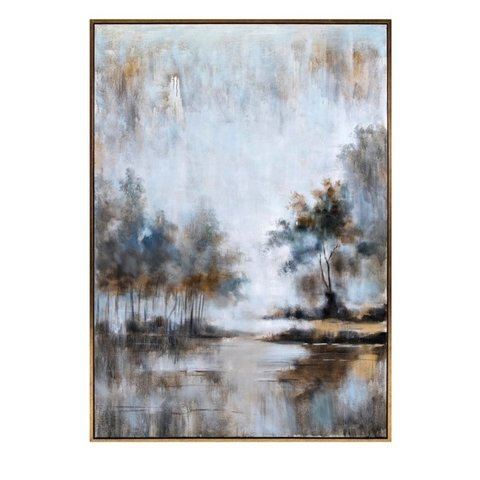 IMX - QUADRO PINT OLEO NEUTRAL HAZE 185X127CM