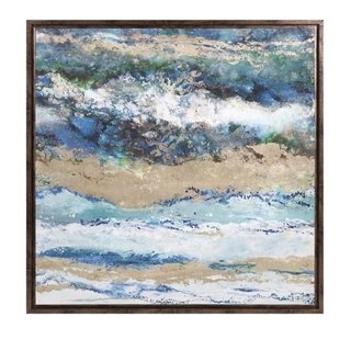 IMX - QUADRO SEASIDE WAVES 95X95CM
