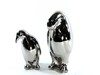2183 - KIT 2PINGUINS SLV 12.5/16.25CM