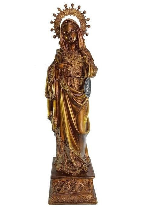 9270 - SAGRADO COR DE MARIA PINT GOLD 55CM