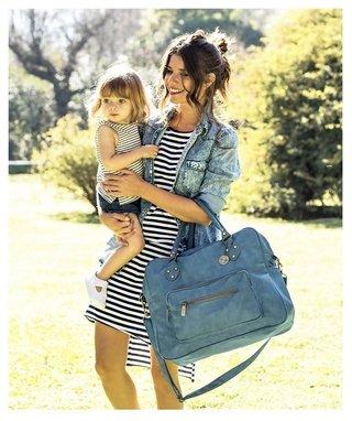mochila de viaje de gran capacidad y multifunci/ón GXGZ Bolso de pa/ñales lindo bolso de beb/é Minnie y Flower Vine Mommy