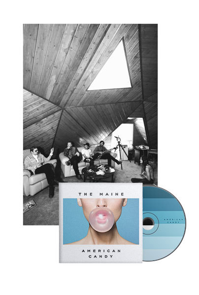American Candy CD + Poster