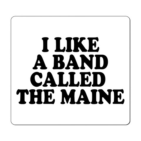The Maine - I Like A Band Called The Maine [Adesivo] - comprar online