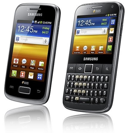 Smartphone Samsung Galaxy Y Pro Duos B5512 / Android 2.3 / 3G / Wi-Fi / 3.2MP / GPS / Qwerty - comprar online