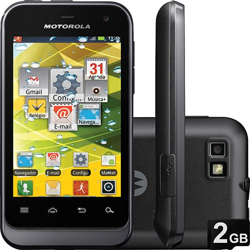 Celular Motorola Defy Mini Dual Chip XT-321 com Android 2.3,Touch Screen, Câm