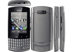 CELULAR NOKIA ASHA 303 PRATA COM QWERTY, CÂMERA 3.2MP, WI-FI, 3G,TOUCH SCREEN, RÁDIO FM, MP3, BLUETOOTH - comprar online