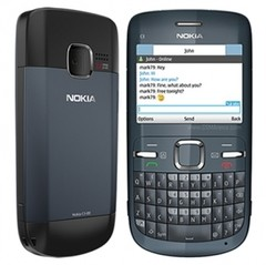 CELULAR Nokia C3-00 PRETO Câmera 2mp Rádio Fm Mp3 Bluetooth Usb na internet