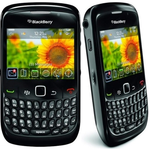 Smartphone Blackberry Curve 8520, Foto 2 Mpx, Blackberry OS, 1 Core 512 MHZ, Quad Band (850/900/1800/1900) na internet