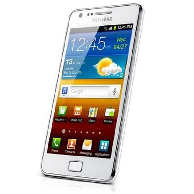SAMSUNG GT-I9100 GALAXY S II COM CÂMERA 8MP + 2MP FRONTAL, ANDROID 2.3, 3G, WI-FI, GPS, TOUCH, MP3, FM, BLUETOOTH E FONE