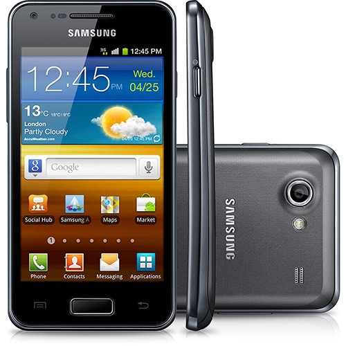 CELULAR Samsung I9070 Sii Lite PRETO Android 8gb 3g Wi-fi 5mp, Micro SD até 32 GB, Quad Band (850/900/1800/1900)