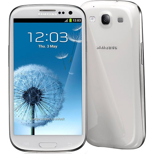SAMSUNG GALAXY SIII I9300 BRANCO ANATEL 16GB 8MP 3G WIFI GPS - infotecline