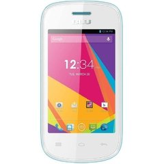 Smartphone BLU Dash JR TV D141T branco, Dual Chip, Android 4.4, Câm. 2MP, Tela 3.5'