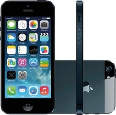 IPHONE 5 64GB PRETO SEMI NOVO COM GARANTIA E NF