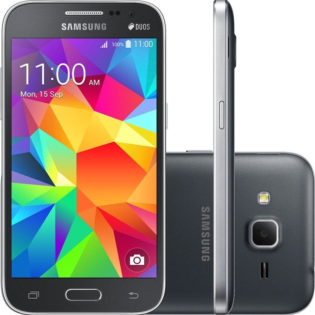 SMARTPHONE SAMSUNG GALAXY WIN 2 DUOS G360m CINZA DUAL CHIP ANDROID 4.4 4G WI-FI MEMÓRIA 8GB