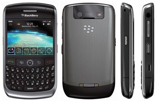 CELULAR BlackBerry 8900 Curve Foto 3.1 Mpx, Blackberry OS, Wi-fi e o GPS, mp3 player, bluetooth - comprar online