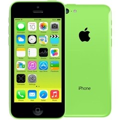 "iPhone 5c Apple 8GB  VERDE com Tela de 4"", iOS7, Câmera 8MP, Touch Screen, Wi-Fi, 3G/4G, GPS, MP3 e Bluetooth"
