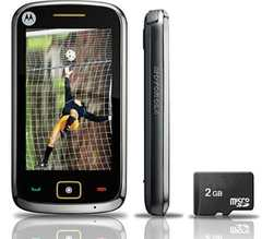MOTOROLA EX245 PRETO TV DIGITAL/CAM3.2MP/2GB/TOUCH SCREEN - comprar online