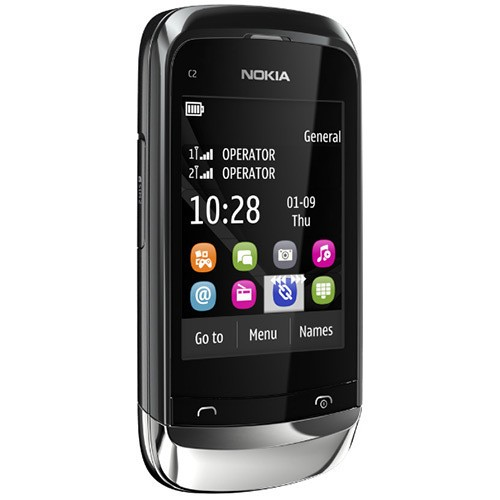 NOKIA C2-06 GRAFITE DUAL CHIP SLIDER TOUCH CAM 2MP - comprar online