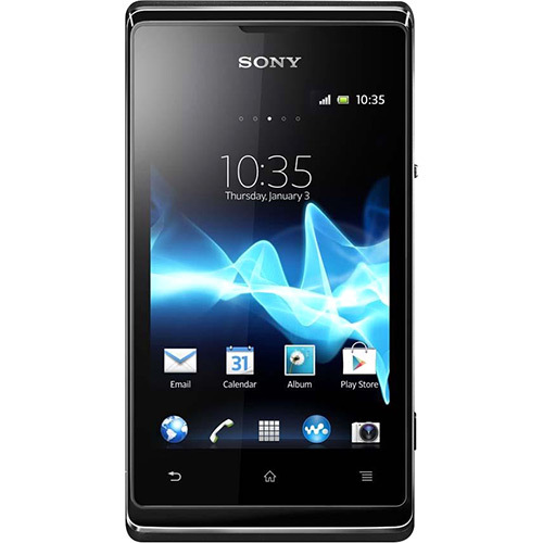 SMARTPHONE SONY XPERIA E DUAL CHIP  ANDROID 4.0 TELA 3.5