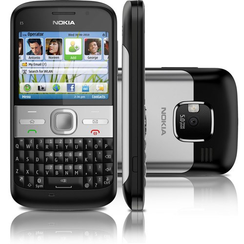 Celular Nokia E5-00 PRETO, Whatsapp, Facebook, Wifi, 3g, Bluetooth