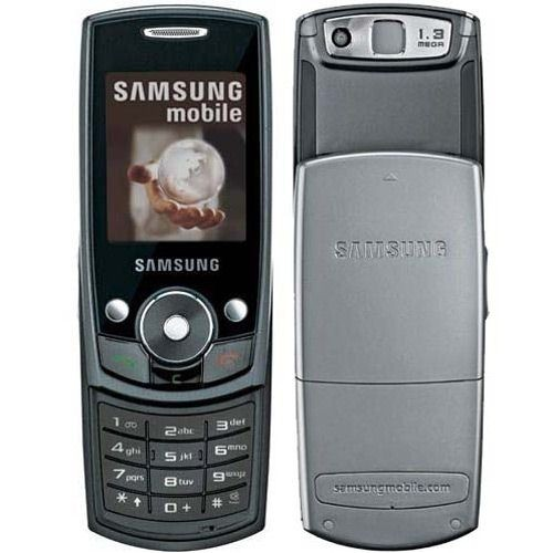 CELULAR SAMSUNG SGH-J700i, QUADRI-BAND, 1.3MP, BLUETOOTH, RADIO FM COM GRAVADOR - infotecline