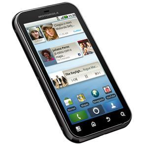 MOTOROLA DEFY PRETO C/ MOTOBLUR(TM), ANDROID 2.1, TOUCHSCREEN, CÂMERA 5MP, BLUETOOTH, GPS, WI-FI, 3G, FM, MP3, na internet