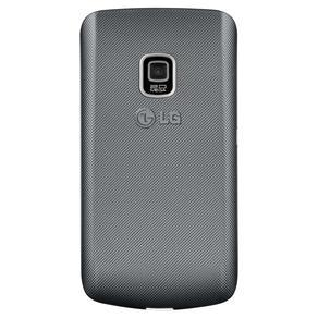 LG C199 PRATA COM DUAL CHIP, CAMERA 2MP, RADIO FM, MP3, TECLADO QWERTY, BLUETOOTH, WI-FI na internet