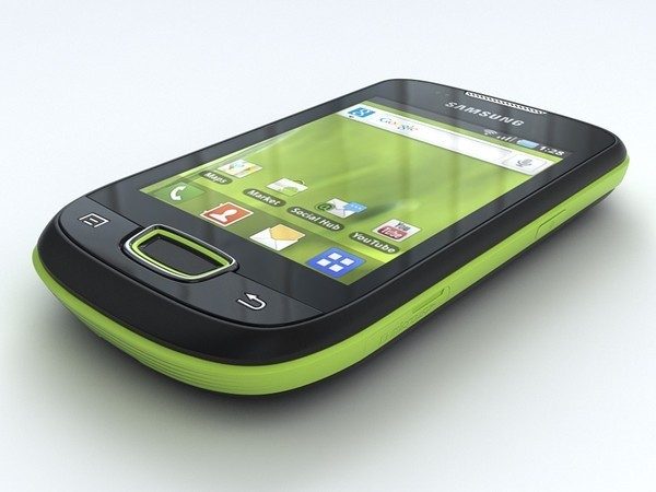 SAMSUNG GALAXY MINI VERDE CÂMERA 3.2MP, WI-FI GT - S5570 na internet