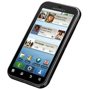 MOTOROLA DEFY PRETO C/ MOTOBLUR(TM), ANDROID 2.1, TOUCHSCREEN, CÂMERA 5MP, BLUETOOTH, GPS, WI-FI, 3G, FM, MP3, - infotecline