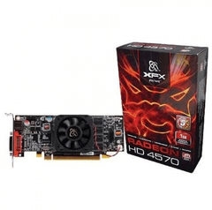 Placa de vídeo XFX Radeon HD 4570 1GB DDR2 DVI, VGA