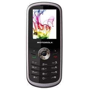 MOTOROLA WX290 PRATA/CHUMBO C/ CÂMERA DIGITAL, MP3 PLAYER, RÁDIO FM Cc/ RDS, WAP 2.0, BLUETOOTH E LANTERNA LED - infotecline