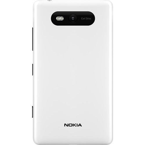 NOKIA LUMIA 820 BRANCO NACIONAL CAM 8MP 8GB 4G GPS - infotecline