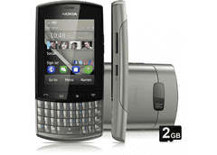 CELULAR NOKIA ASHA 303 PRATA COM QWERTY, CÂMERA 3.2MP, WI-FI, 3G,TOUCH SCREEN, RÁDIO FM, MP3, BLUETOOTH na internet
