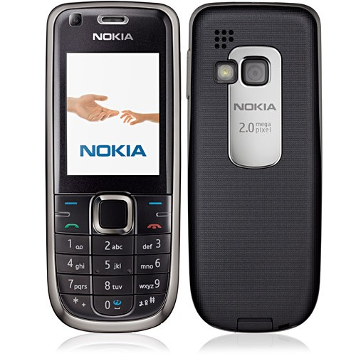 CELULAR Nokia 3120 PRETO 3g Cam 2mp C/ Flash E Frontal Fm Bluetooth