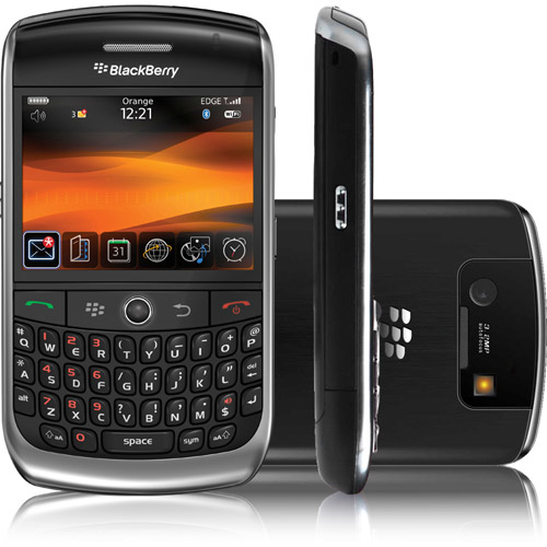 CELULAR BlackBerry 8900 Curve Foto 3.1 Mpx, Blackberry OS, Wi-fi e o GPS, mp3 player, bluetooth