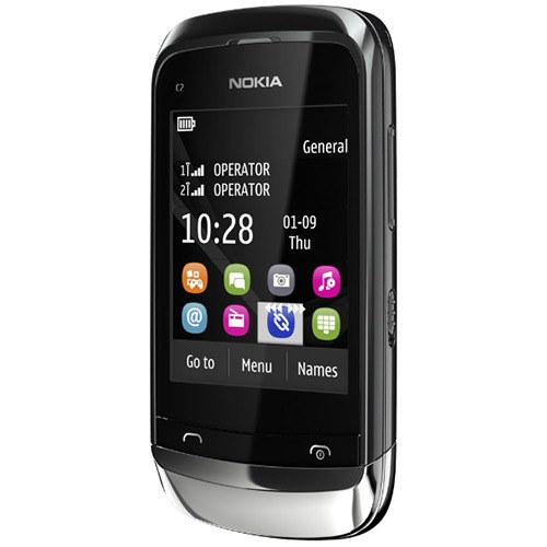 Imagem do NOKIA C2-06 GRAFITE DUAL CHIP SLIDER TOUCH CAM 2MP