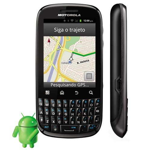 Celular Motorola Spice Key XT316 CAM 3MP, Android, QWERTY, MP3, FM, 3G, GPS, Wi-Fi, Bluetooth, Fone e Cartão 2GB - comprar online