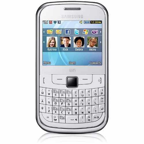 CELULAR SAMSUNG S3350 branco, Teclado QWERTY, microSD até 8GB, Wi-FI, Mp3 Player, Foto 2 Mpx, bluetooth, Quad Band (850/900/1800/1900) - comprar online