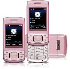 CELULAR LG GU230 ROSA, QUAD-BAND, CAM 1.3MP, BLUETOOTH, RADIO FM, MP3 PLAYER